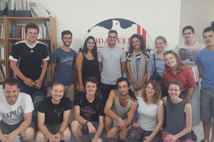 Comac solidair(e) met/avec Palestine