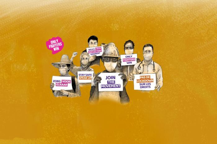 Steun sociale bewegingen - Soutenez les mouvements sociaux