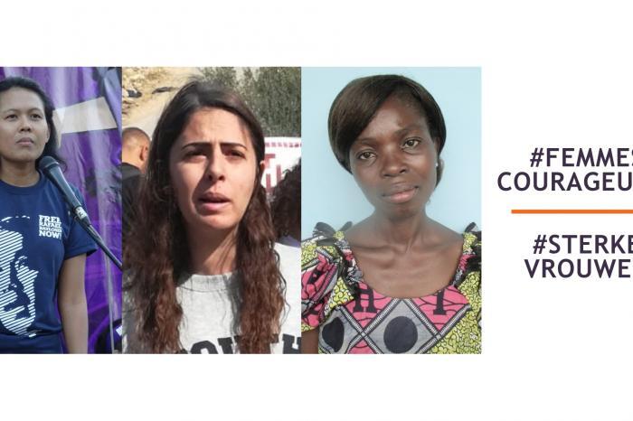 #FemmesCourageuses  #SterkeVrouwen