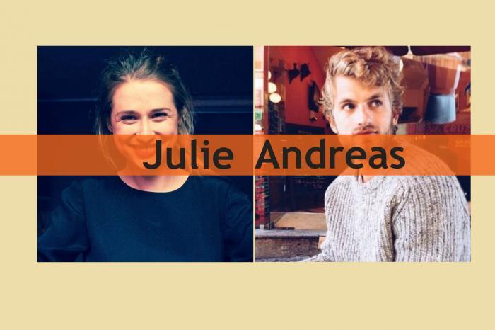 Julie en Andreas lopen voor Palestijnse jongeren